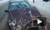 Под Костромой в аварии легковушка отправила в кювет трактор (фото)