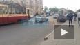 На проспекте Энгельса из-за ДТП стоят трамваи