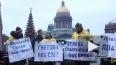 Законодательное Собрание Петербурга пикетируют эсеры
