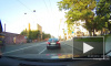 Видео: Пежо сбил девушку на пешеходном переходе