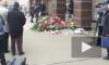 В Петербурге закрасили граффити, посвященное погибшим при  теракте в метро