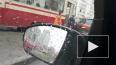 Иномарка вызвала столпотворение трамваев на проспекте ...