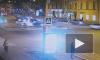 Видео: легковушка неудачно закончила перекресток на Измайловском