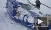 Видео авиакатастрофы вертолета в Карелии