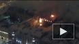 Пугающие кадры пожара в ВМИ