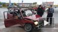 """Очевидцы: на Таллинском шоссе пьяный водитель """"Оки"""" ..."""