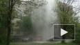 Появилось видео рекордного фонтана кипятка на Товарищеском ...