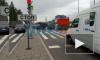 Видео: на Парашютной улице перевернулась черная иномарка
