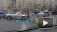 Две иномарки влетели друг в друга на юге Петербурга