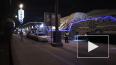 Утром на Московском проспекте перевозили военную технику