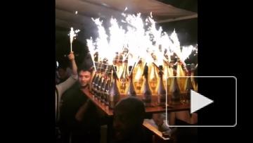 Мамаев и Кокорин купили шампанского на 250 тысяч евро