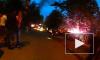 Массовый поджог автомобилей в Купчино сняли на видео