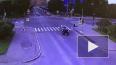 Мотоциклист на бешеной скорости влетел в иномарку ...
