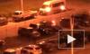 Видео: ночью на платной стоянке сгорела машина