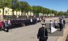 Возле музея Горного института состоялось торжественное присвоение имён патрульным катерам полиции