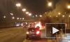 Ночью на КАД на ходу загорелся автомобиль