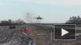 Истребители и бомбардировщики СУ совершили посадку ...