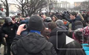 8 марта в Петербурге планируется сход против ввода российских войск на Украину