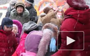Чучело сожжено: в Петербурге прошел последний день Масленицы