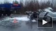 Жуткое видео из Сургута: трассу не поделили легковушка ...