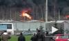 Пожарным удалось справиться с возгоранием мазута в Петербурге