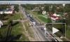Дорога на съезде с Лиговского путепровода станет на одну полосу шире