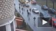 Появилось видео перестрелки на проспекте Ветеранов