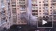 На Малой Карпатской забил фонтан с горячей водой