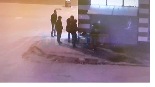 Стрельба в человека на проспекте Просвещения попала на видео