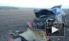 Жесткое видео из Башкирии: в лобовом столкновении погибли два человека