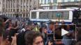На акции за честные выборы в Петербурге начались массовы...