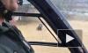 Появилось видео спасения человека и собаки на вертолёте в Малаге