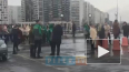 """Видео: на улице Коллонтай эвакуировали """"Леруа Мерлен"""""""