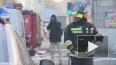 Во время ночного пожара на Большом Сампсониевском ...