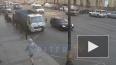 Видео: каршеринг сбил пешехода с велосипедом на Литейном