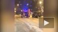 """Видео: На Университетской набережной """"Газель"""" столкнулась ..."""