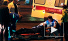 ДТП в Санкт-Петербурге: девушка на иномарке сбила женщину, полицейская машина столкнулась c Фольксвагеном