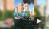 Видео: на улице Наставников горит многоэтажка