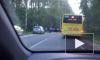 Страшное ДТП в Репино: лоб в лоб столкнулись маршрутка и черная иномарка