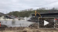 Обрушение моста через Колу остановило движение между ...