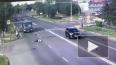 Жесткое видео из Подмосковья: Джип на полном ходу ...