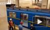Голое видео из Киева: Обнаженный мужчина пытался угнать поезд метро