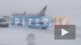 Из-за непогоды временно закрыли аэропорт в Петербурге