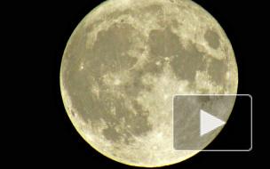 Очевидцы сняли самую большую Луну за 70 лет