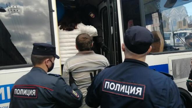 На митинге в поддержку хабаровчан в Петербурге задержаны более 10 человек