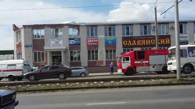 В Кемерово обвалилась крыша офисного здания: травмы получили семь человек