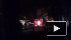 Пожар на пивзаводе в Кемерово