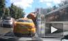 Появилось видео взрыва КамАЗа с фекалиями в центре Москвы