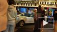На Невском проспекте легковушка врезалась в автобус