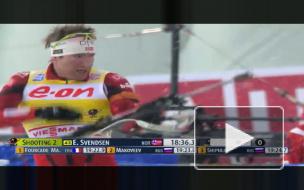 Российские биатлонисты остановились в шаге от медалей на этапе Кубка мира по биатлону в Чехии